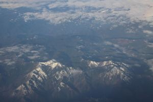 flying from San Diego, California to Seattle, Washington, 2013