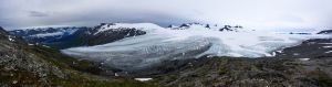Harding Ice Field hike, 2016