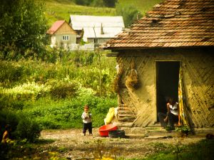 En route from Sighișoara to Bucharest, 2008