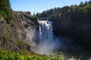 Snoqualmie Falls, Washington, 2016