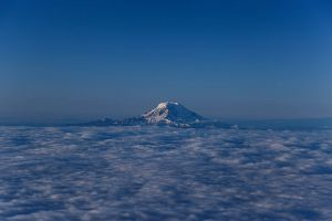 Mt. Rainier summit, Washington, 2016