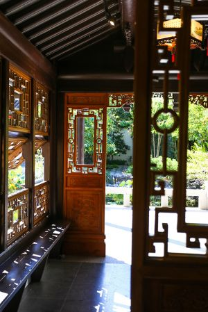 Lan Su Chinese Gardens, Portland, Oregon, 2016