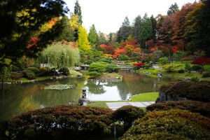 Seattle Japanese Friendship Garden, Washington, 2019